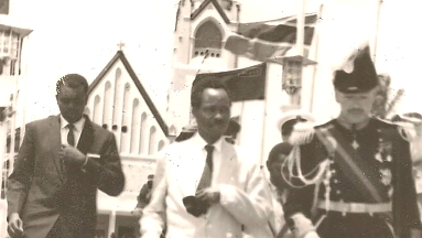 1961 Last Governor Leaving Tanganyika