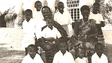 1961 Nyerere and His Family after independence
