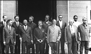 African Leaders At OAU Conference December 1967