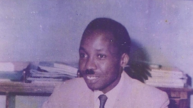 Mwalimu Nyerere at Ikulu after Independence
