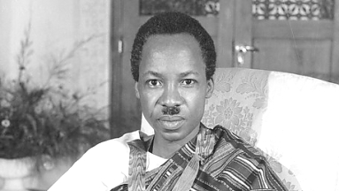 Mwl.J.K. Nyerere the first Tanganyika Independent leader 1961