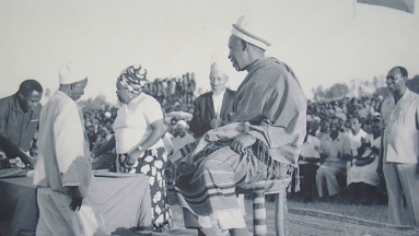 Nyerere congrats after Kagera war victory 1979