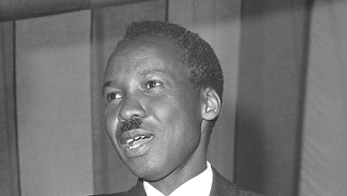 J.K.Nyerere meets commonweath minister prior to the conference 1964