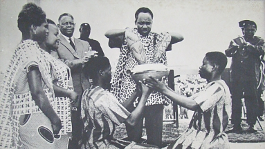 Nyerere in Tanganyika and Zanzibar Union 1964
