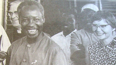 Nyerere with Joan Wicken