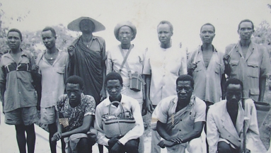 Nyerere on Arusha declaration with youth from Mbulu in 1967